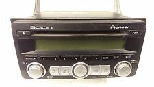 Original 2004-2009 toyota scion pioneer sat radio CD mp3 wma aux in pt546-00080