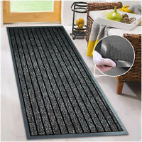 Non Slip Hall Hallway Kitchen Runner Rug Door Mats Heavy Duty Rubber Barrier Mat