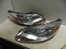 SET NOS OEM FORD FOCUS 2012 2013 2014 HEADLIGHT (WATER SPOTS, NO ADJUSTER)
