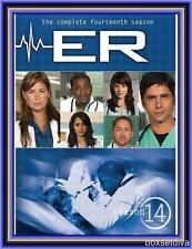 ER COMPLETE SEASON 14 - FOURTEENTH SEASON *BRAND NEW DVD*