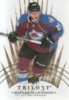2014-15 Upper Deck Trilogy Hockey #80 Nathan MacKinnon Colorado Avalanche