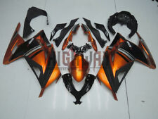 Fit 13-16 Kawasaki Ninja 300 Special  Fairing Kit Bodywork Orange Gold color New