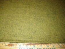 "PRIMITIVE REETS RELISH GREEN WOOL FELT 20/80 BY THE 1/2 YARD 36"" WIDE"