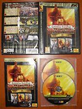 Grandes Batallas Medievales Real Warfare Anthology,Las Cruzadas,El Rey Arturo PC