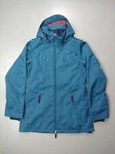 Oakley jacket womens Hooded FullZip Insulated anorak fit snow ski coat winter M