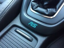 Focus RS Pegatina Gear Surround 2016 no Adhesivo Placa/Placa Mk2 Mk3 nitroso