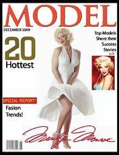 """MARILYN MONROE MODEL MAGAZINE COVER FRIDGE MAGNET. 4"""" X 5"""".....FREE SHIP"""