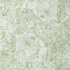 Vliestapete Blumen Floral Tapete Grün Weiß Caselio Amazonia Vlies 66437170