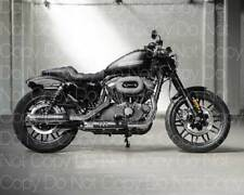 Harley Davidson Roadster Motorcycle 8X10 photo picture poster print RP