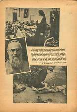 Hospital Shanghai China-Japan War/Patriarche d'Antioche Paris 1937 ILLUSTRATION