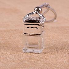 Glass Perfume Bottle Car Essential Oils Pendant Air Freshener Mini Diffuser Gift