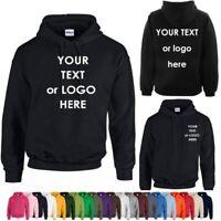 Custom Printed Hoodie Unisex Personalised Stag Hen Workwear Event TOP QUALITY