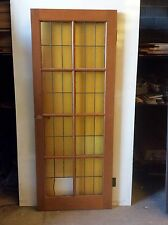 FRENCH  DOOR WITH LEADLIGHT