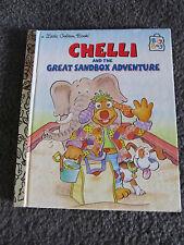 LITTLE GOLDEN BOOK...Hardcover book...1997...CHELLI & the great sandbox advent.