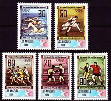 Siria Syria 1984 ** mi.1594/98 juegos olímpicos Olympic Games fútbol [sy336]
