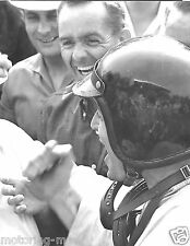 PORSCHE 804 DAN GURNEY PHIL HILL FRENCH GRAND PRIX ROUEN LES ESSARTS PHOTOGRAPH