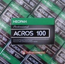 5 rolls Fuji Fujifilm NEOPAN 100 ACROS B&W BW Film 135 35mm lomo holga art NEW