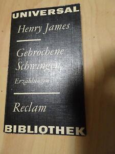 Reclam-TB: Henry James: Gebrochene Schwingen. Erzählungen