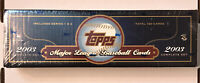 2003 Topps Baseball Cards Complete Set Factory Sealed Series 1 & 2-720 cards MLB