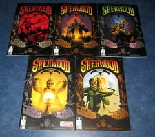 SHERWOOD TX TEXAS #1 2 3 4 5 1st print set 12 GUAGE COMICS 2014 SHANE BERRYHILL