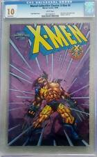 XMen 25 Chromium Cover CGC 10.0 Rarer then Gold Sketch Black White Wolverine 145