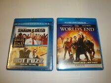 Shaun of the Dead / World's End & Hot Fuzz *New & Like New* (Blu-Ray 4-Discs )