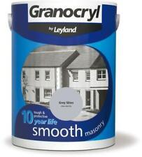 Granocryl by Leyland 386479 5 Litre Smooth Masonry Paint - Grey Skies