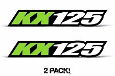 AMR Racing Kawasaki KX 125 Swingarm Graphic Number Plate Decal Sticker Part