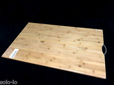 Bamboo Extra LARGE Carbonised Kitchen Cutting Chopping Board 50x80cm NEW
