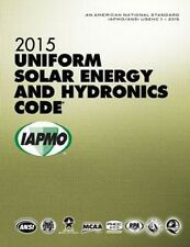 2015 Uniform Solar Energy & Hydronics Code Book - New