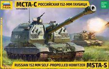 Zvezda 3630 Russian 152 mm self-propelled Howitzer MSTA-S 1/35
