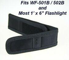 NEW - Lot of 3 Ultrafire Flashlight Nylon Holster Holder Belt Medium Pouch Cases