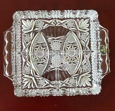 Bohemia Crystal Divided Tray