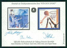 GERMANY SPORTS AID OLYMPIC COMMITTEE S/S UNISSUED DESIGNS BASKETBALL m2370