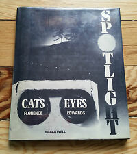 Spotlight - Cats Eyes, Florence Edwards 1972 1st edition, automobiles british