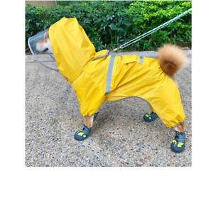 Dog's Waterproof Raincoat/Jumpsuit, Dog Costume, Pet Outfit for French Bulldog,