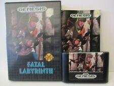 Fatal Labyrinth - Sega Mega Drive NTSC Complete