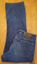 SILVER JEANS CO MENS SIZE 32L27 BUTTON FLY RELAXED FIT 100% COTTON