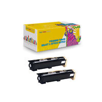 2PK Black Compatible 113R00668 Toner Cartridge Fits Phaser 5500 5500 For Xerox
