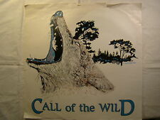 """Call of the Wild Wolf Howl 15"""" X 15"""" T Shirt Iron On Heat Thermal Transfer"""