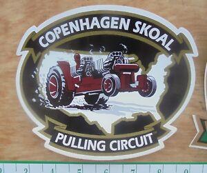 COPENHAGEN/SKOAL PULLING CIRCUIT DECAL -NEW