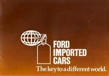Ford USA Australia 1977-78 UK Market Brochure Mustang Fairmont Mercury Monarch
