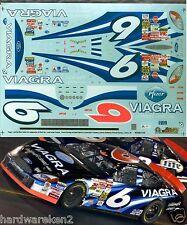 NASCAR DECAL # 6 VIAGRA 2002 FORD TAURUS  MARK MARTIN SLIXX