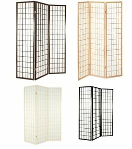 Tokyo Japanese Room Divider Privacy Screen. Size & Colour Choice