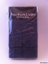 Polo Ralph Lauren Mens Cotton Classic One Woven Boxer Blue Striped Size 30 NWT!