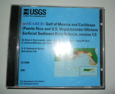 USGS Series 146 Seabed Gulf of Mexico and Carribean CD ROM software
