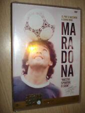 DVD N° 9 MARADONA NON SARO' MAI UN UOMO COMUNE maestro ispiratore di sogni