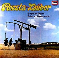 Puszta Zauber - Es spielt das Original Budapester Zigeunerorchester -LP # L 1351