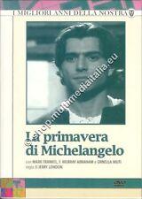 LA PRIMAVERA DI MICHELANGELO - RAI 1990 COFANETTO 3 DVD