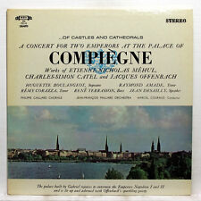 MARCEL COURAUD - CONCERT AT THE PALACE OF COMPIEGNE - MHS LP EX++